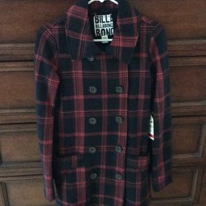 Lite weight double breasted jacket by Billabong